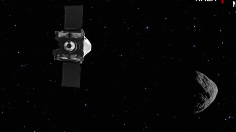 NASA's OSIRIS-REx probe arrives at asteroid Bennu