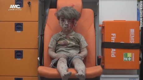 Recently the group helped distrubute this picture of Omran Daqneesh. The image of him, bloodied and silent while awaiting help, vividly reminded the world of the horrors those in Aleppo are facing.