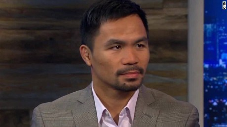 Manny Pacquiao: Duterte realizes what he said