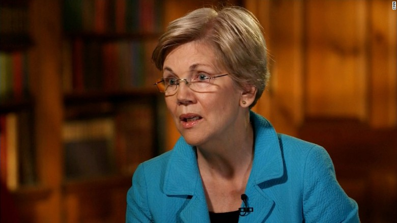 Elizabeth Warren: Donald Trump tapping into real anger