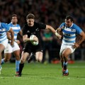 Beauden Barrett of the All Blacks Rugby Championship