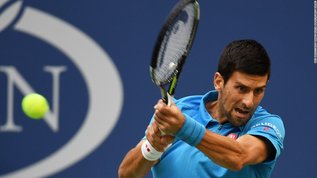 Djokovic made the better start, up 4-1. He looked very sharp.