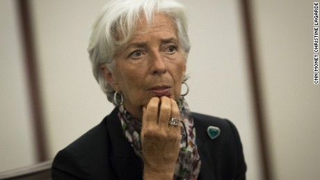 cnn money christine lagarde