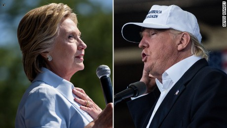 CNN Poll of Polls: Clinton leads Trump by 2 points