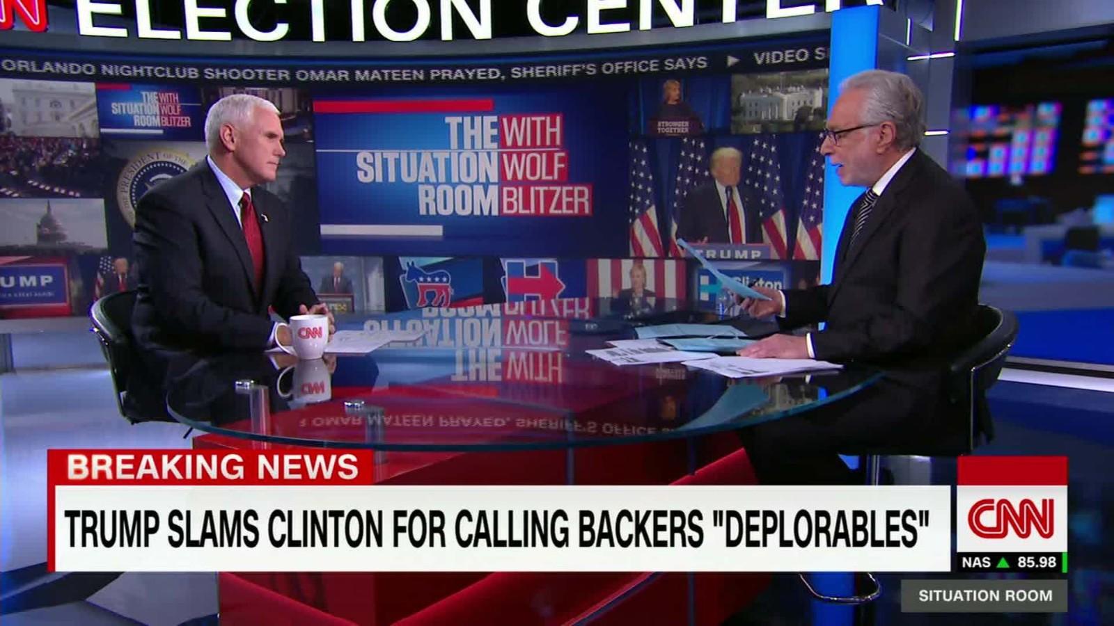 Mike Pence Declines To Call David Duke U0027deplorable,u0027 Disavows Support    CNNPolitics