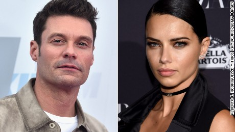 Ryan Seacrest spent some time with model Adriana Lima during the 2016 Olympics.
