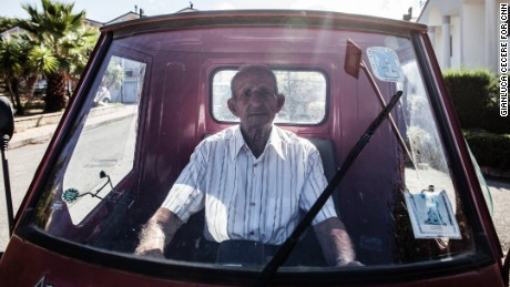 Farmer Luigi Ruocco, 98, says the secret to long life is to keep working -- and drink half a liter of red wine a day.