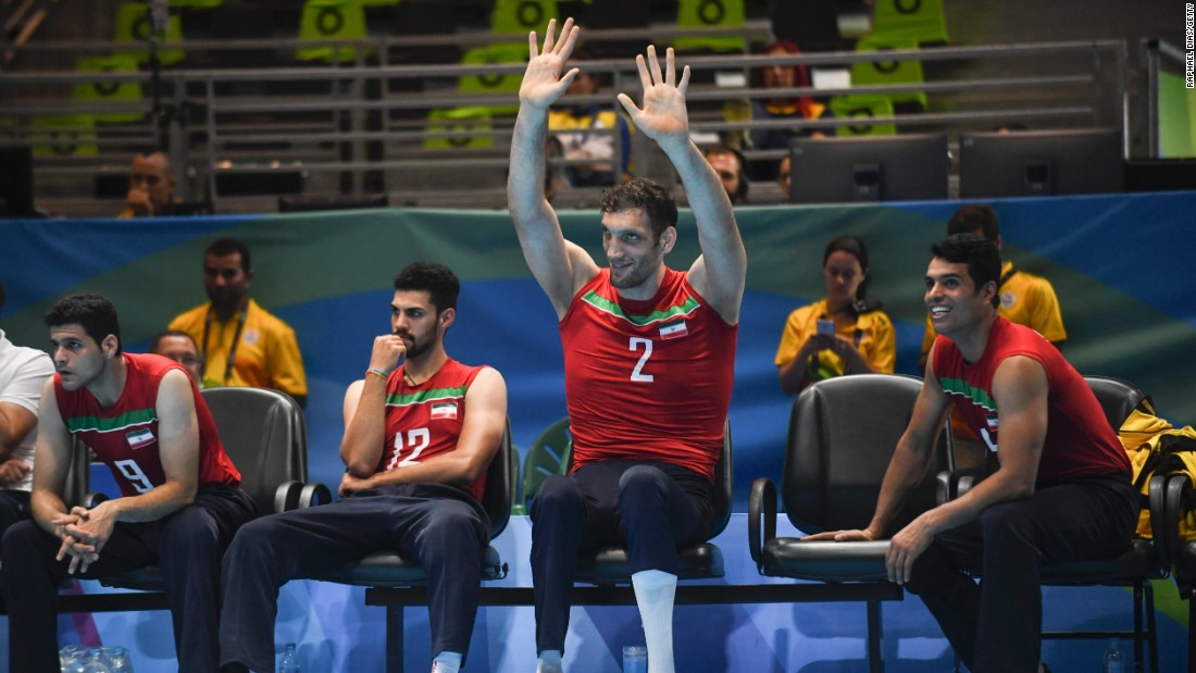 The top-ranked Iranian sitting volleyball team has won five golds and two silvers in its seven Paralympic appearances.