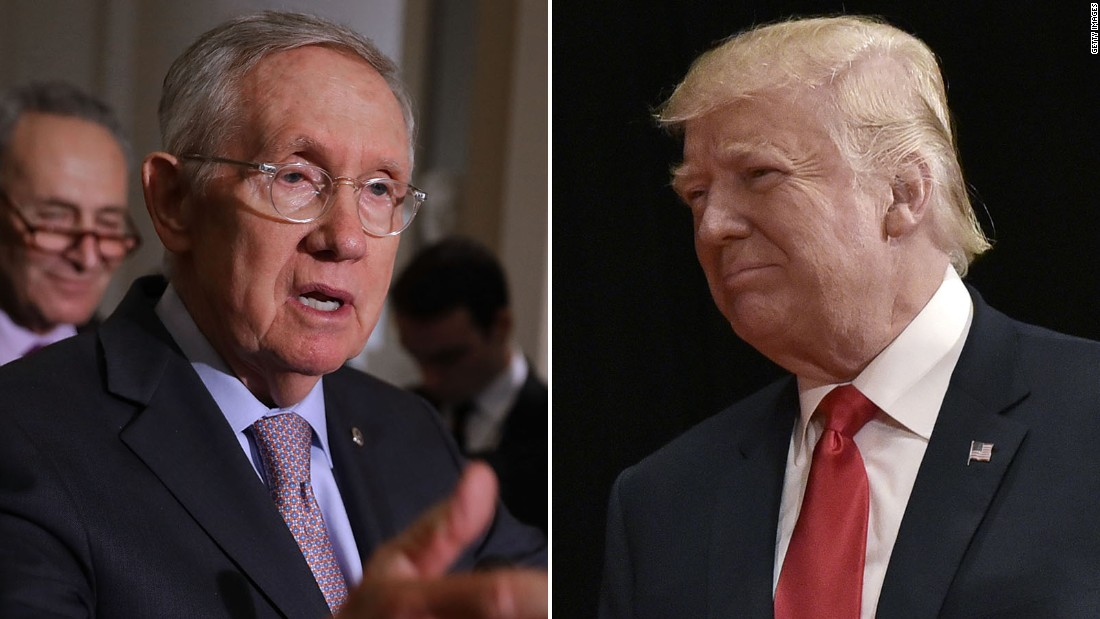 Harry Reid: Donald Trump 'faking his net worth'