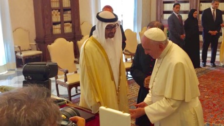 Pope, UAE build bridges to take on ideology of hate and terror