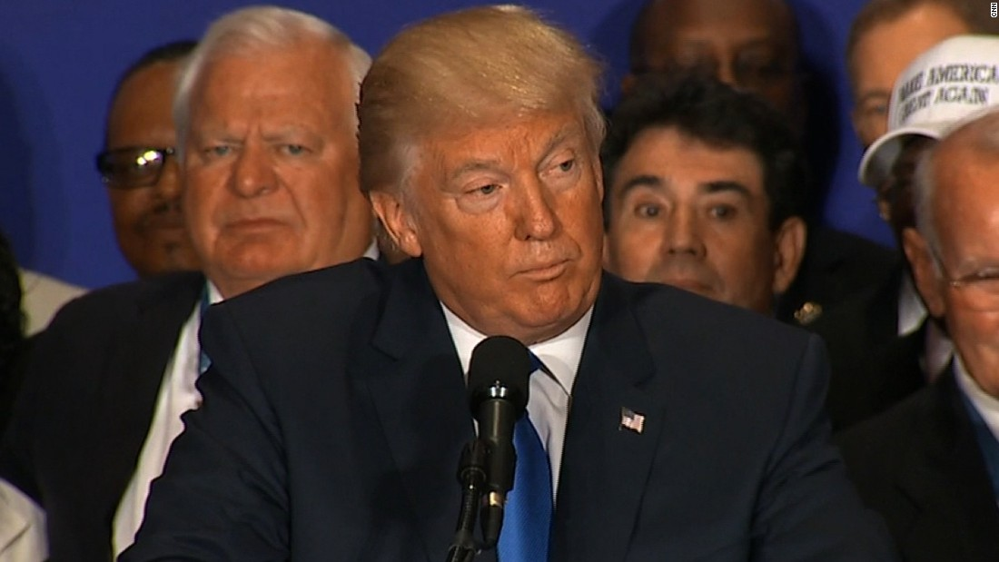 Trump: 'President Barack Obama was born in the United States'