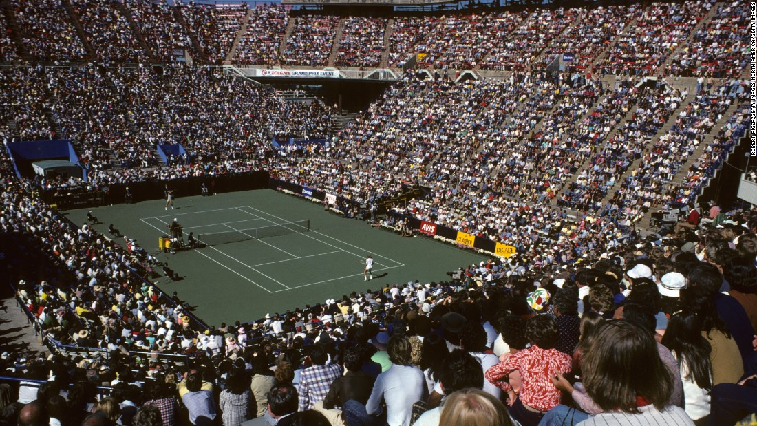 The US Open attracted larger crowds after moving to the USTA National Tennis Center at Flushing Meadows in 1978.