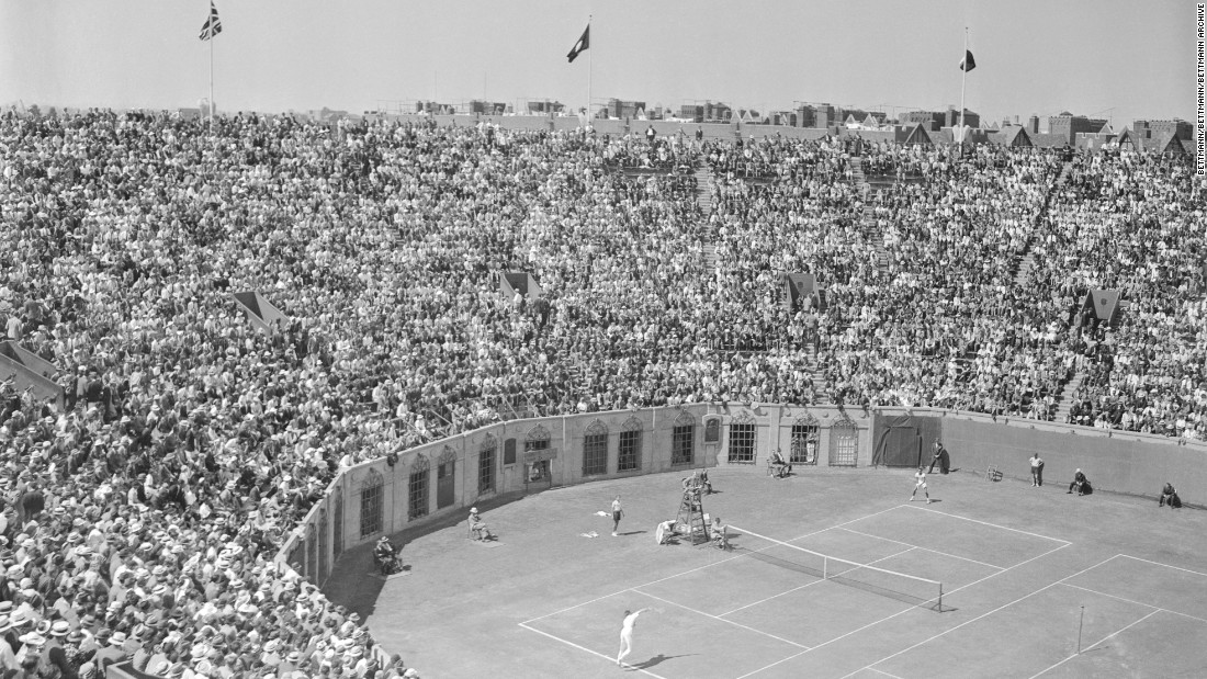 Huge crowds would regularly flock to Forest Hills at the end of the summer, when it hosted the US Open.