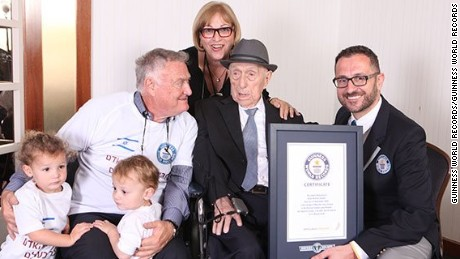 Yisrael Kristal was officially recognized as the world's oldest man by Guinness World Records in March 2016.
