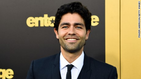 "Actor Adrian Grenier attends the premiere of ""Entourage"" at Regency Village Theatre on June 1, 2015 in Westwood, California."
