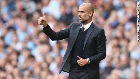 Pep Guardiola oversaw his Manchester City side record a fifth consecutive Premier League win.