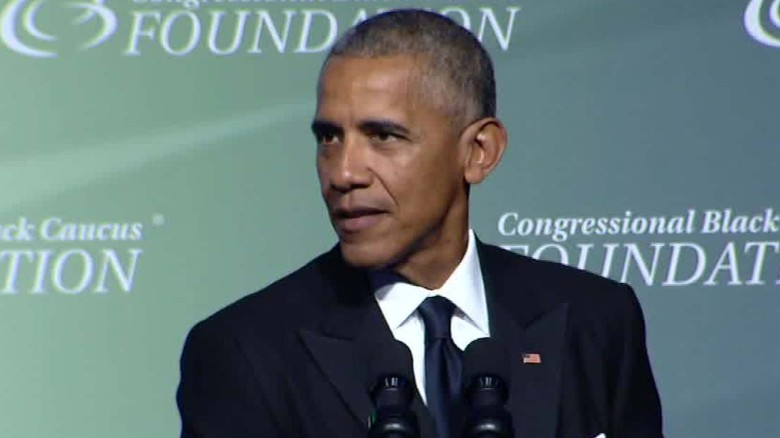 congressional black caucus foundation dinner obama trump sot_00005604