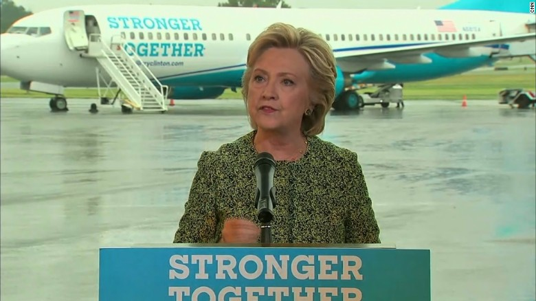 Clinton: Threat is real, but so is our resolve
