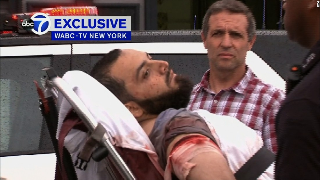 NY, NJ bombings: Suspect charged with attempted murder of officers