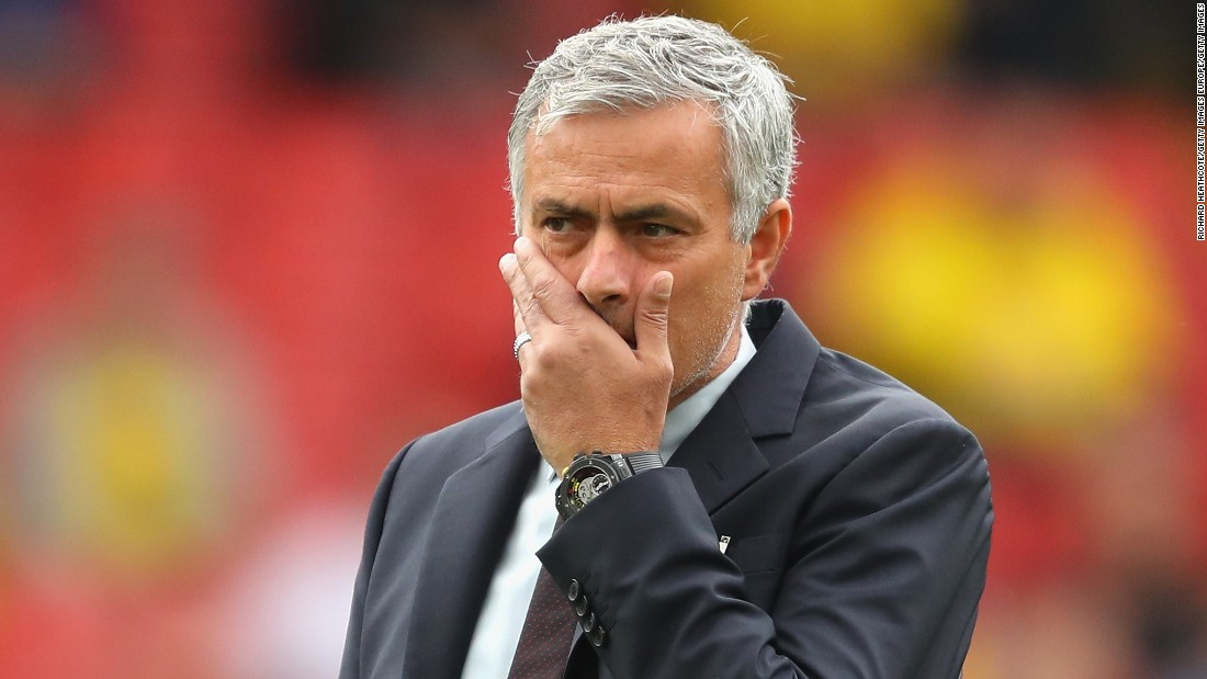 A 3-1 defeat to Watford Sunday piled more pressure on Mourinho. It was the first time United had lost to Watford in 30 years.