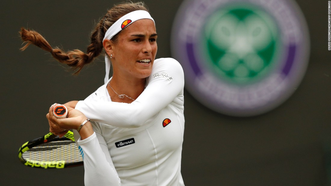 After reaching the third round at the Australian and French Opens, Puig lost her opening match at Wimbledon.