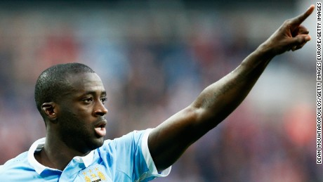 Yaya Toure joined Manchester City in 2010 from Barcelona.