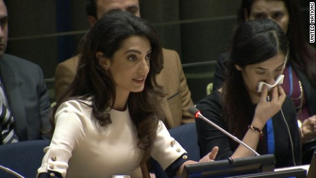 Amal Clooney wants to take ISIS to court