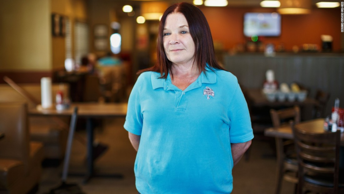 "Immigrants who've committed violent felonies should be deported, and there should be thorough background checks before anyone enters the country, Tina Langley says. ""Then they can be US citizens. I'm good with that. "" But the restaurant manager, 54, says she doesn't like that her grandchildren are being required to study Spanish in school. ""I want them to have a choice,"" she says. ""To me, it's like they're saying, you have to speak like they do."""