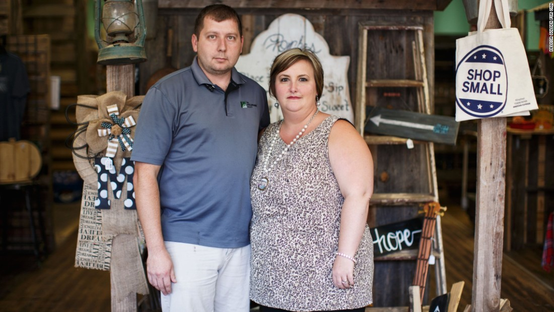 "Michael and Jenifer Rhoden are planning to vote for Donald Trump but say some of his statements about immigration are hard to stomach. Jenifer says it was tough to hear her 10-year-old daughter's reaction. ""She told me, 'No, don't vote for Trump. My friends told me if he gets in office they'll send their moms and dads back to Mexico.' """
