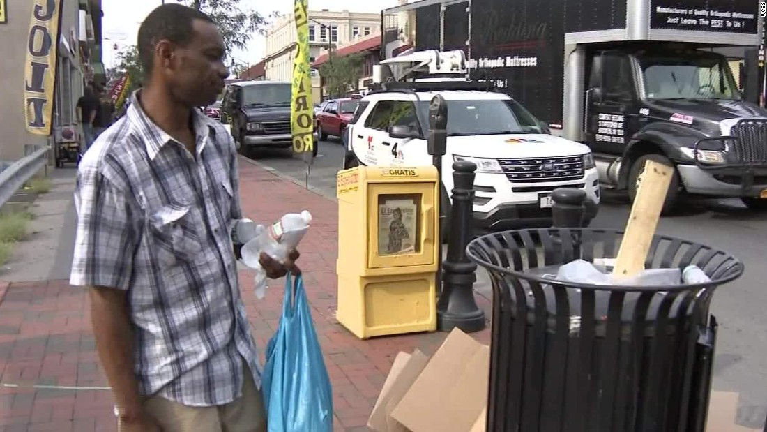 Homeless man who wanted backpack found bombs instead
