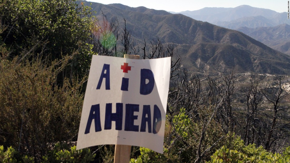 The route has a number of minor aid stations for food and water but six major aid stations with qualified medical personnel looking for signs of fatigue and inability to continue.