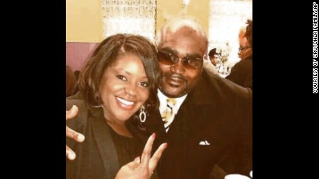 Terence Crutcher, here with his sister, Tiffany, was killed last week by a Tulsa, Oklahoma, police officer.