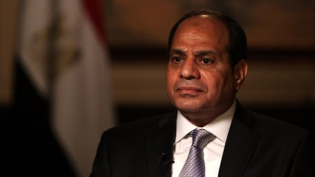 Egypt president: No doubt Trump would be a strong leader