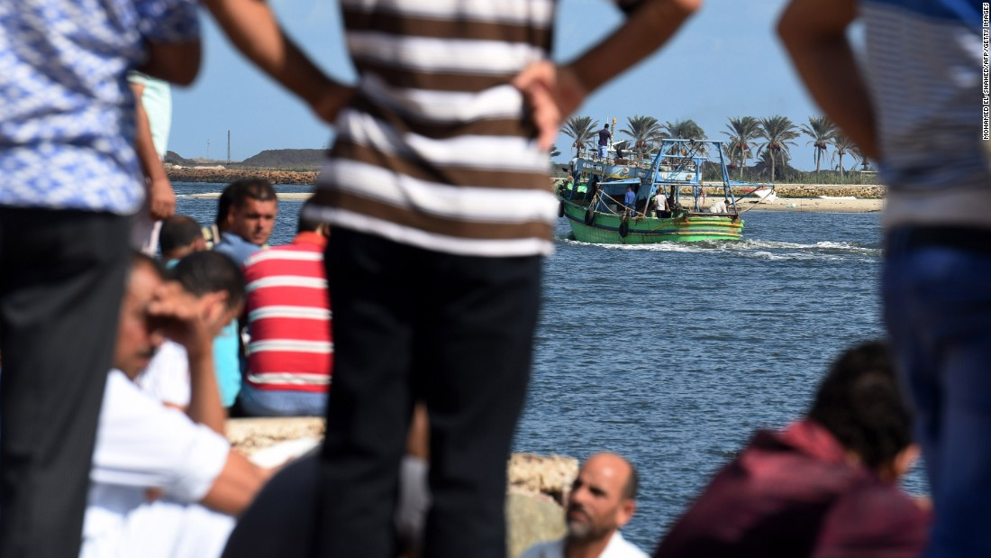 Children among more than 200 bodies recovered from capsized migrant boat