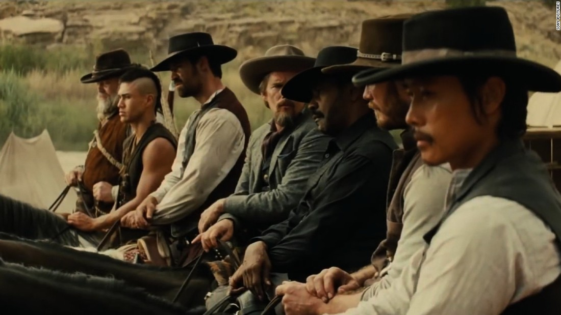 'Magnificent Seven' cast on how diversity helped make a modern western