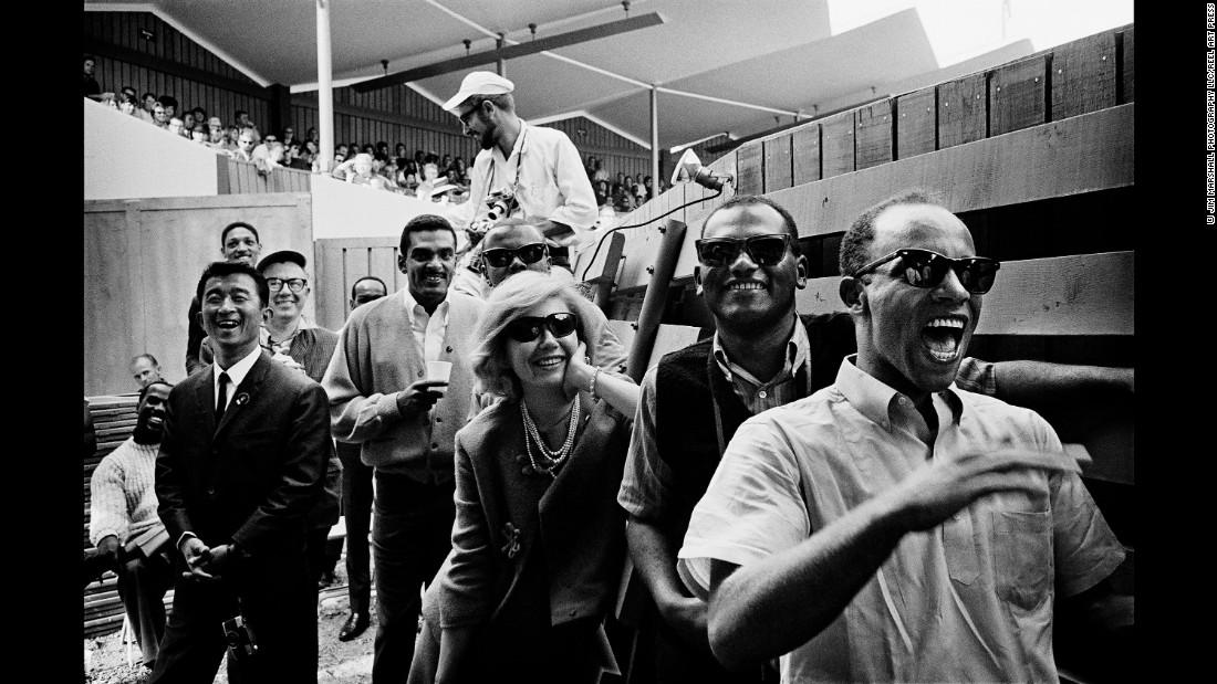 Dizzy Gillespie Monterey Jazz Festival 1961