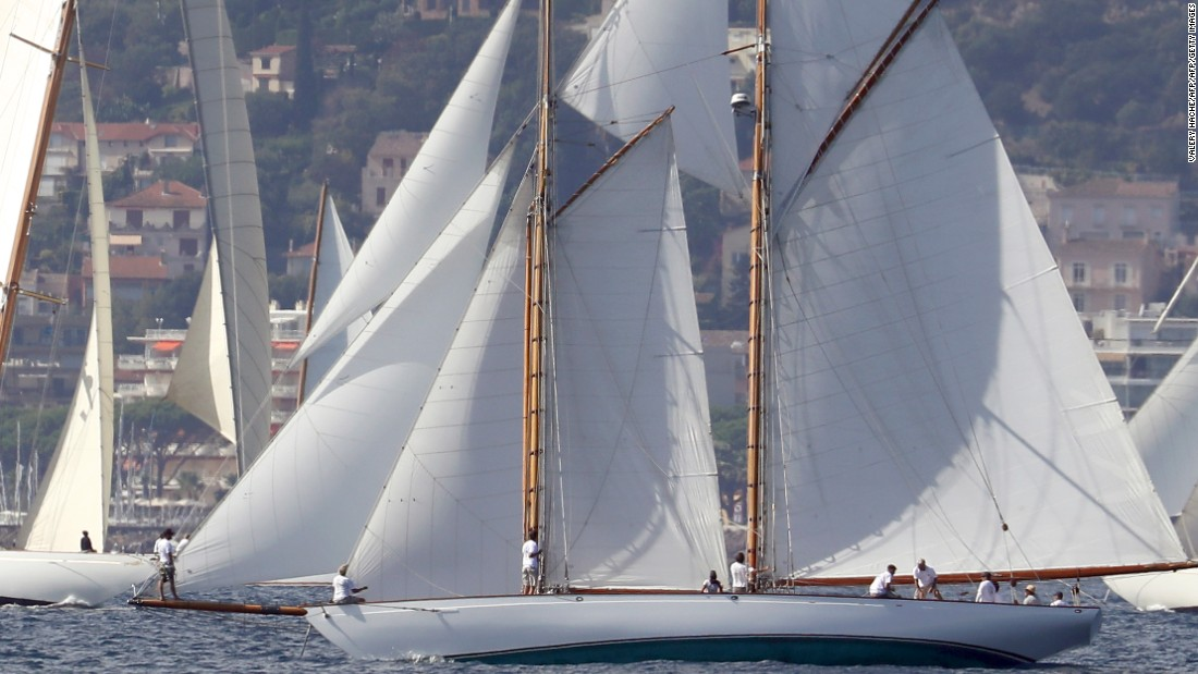 This year's edition is the 38th in the history of a competition that has brought some of the world's finest vintage yachts to Cannes.