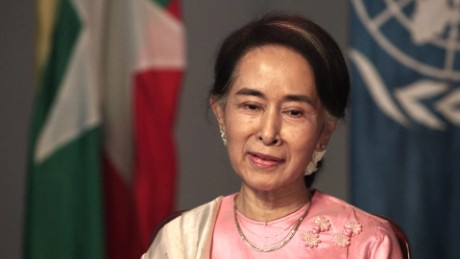 On GPS: Is Aung San Suu Kyi the Mandela of Asia?