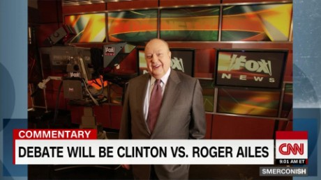 First debate is really Clinton Vs. Roger Ailes_00010112