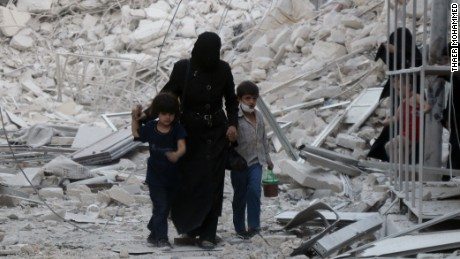 Syria: The tragedy of Aleppo continues