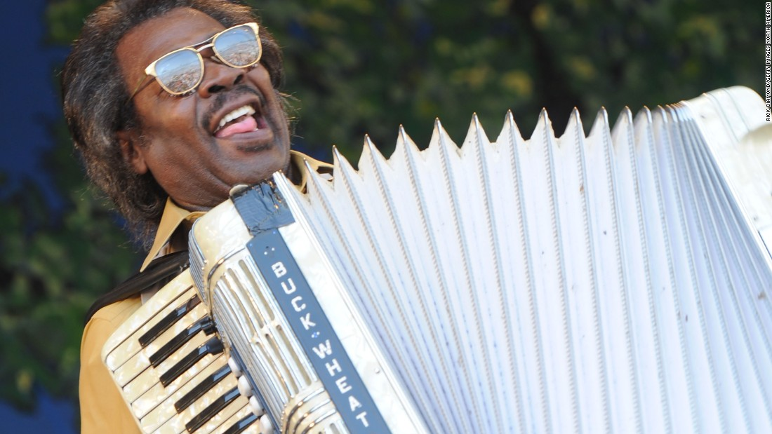 "Grammy and Emmy Award winner <a href=""http://www.cnn.com/2016/09/25/entertainment/stanley-dural-buckwheat-zydeco-dead/index.html"">Stanley Dural Jr., also known as Buckwheat Zydeco,</a> died September 24 in Lafayette, Louisiana. He was 68."
