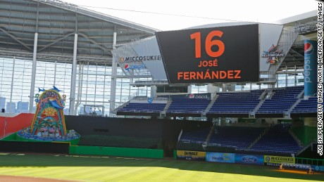Sunday's game between the Marlins and Atlanta Braves was canceled after Jose Fernandez's death.