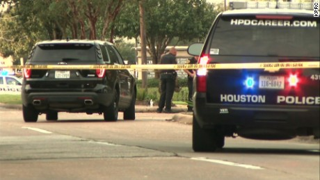 houston shooting scene