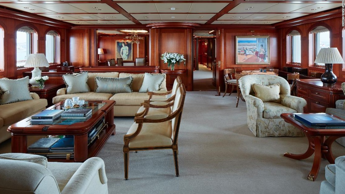 If you have a slightly more sophisticated taste, she combines traditional yachting arts with modern yachting technology and will set you back a cool $113 million.