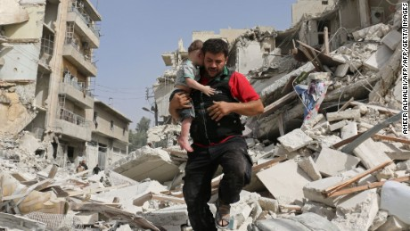 Report suggests Russia, Syria deliberately targeted civilian areas of Aleppo