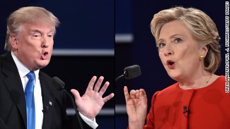 Trump and Clinton spar on trade, taxes, emails