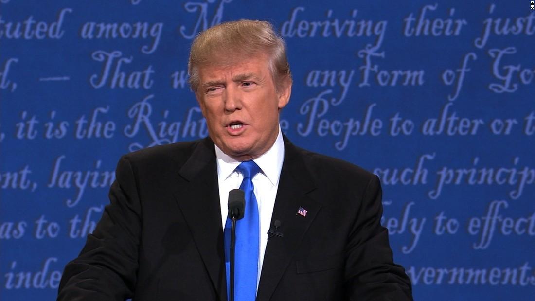 Clinton puts Trump on defense at first debate