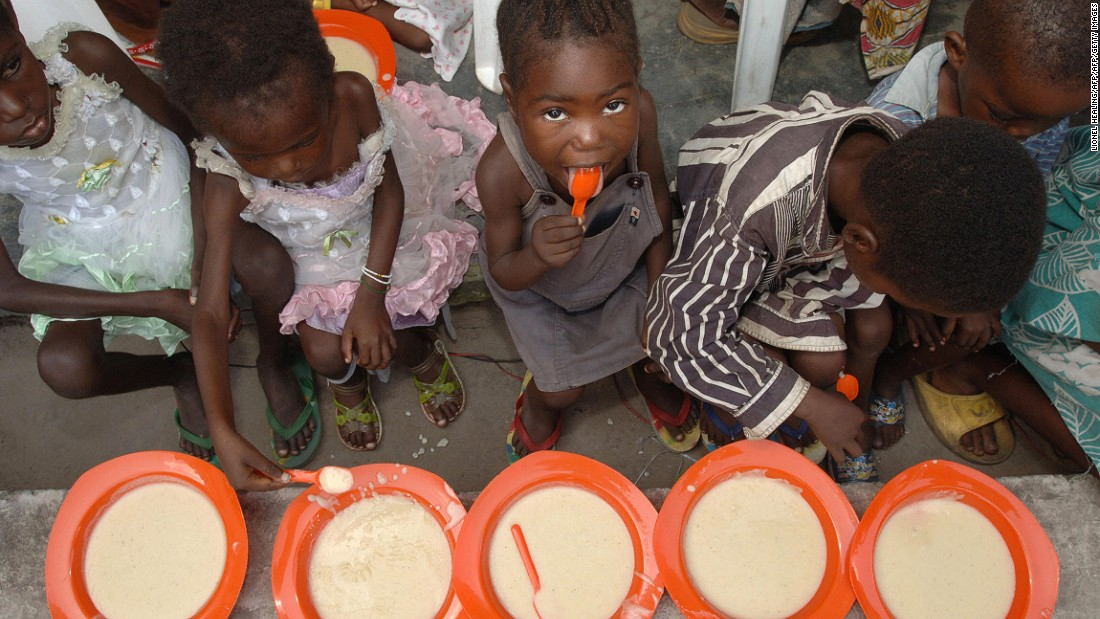 Many African countries are battling both undernourishment and obesity, according to the report. Children are particularly vulnerable. An estimated 45.4% of deaths among children under five can be linked to poor diet.