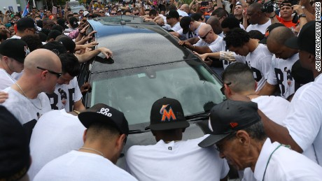 Miami bids farewell to Jose Fernandez