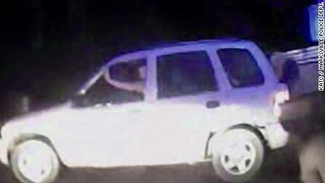 VIdeo shows Christopher Few in the car.